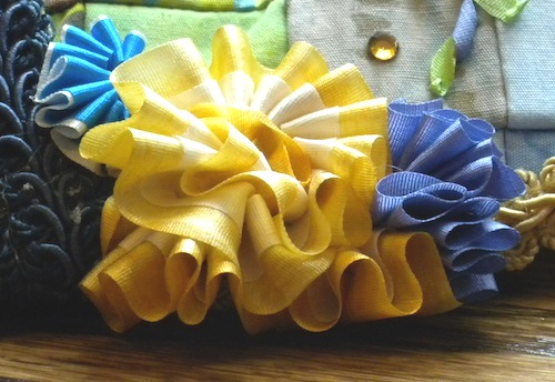 pleated flower 2